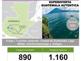 SUPEROFERTA GUATEMALA AUTÉNTICA